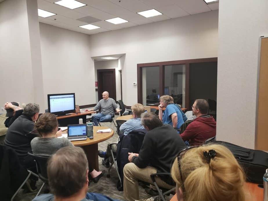 Google AdWords Meetup Group First Meeting - Fox Build